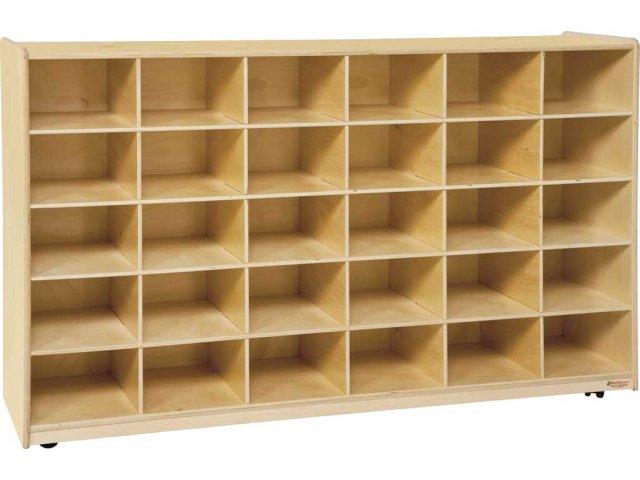 Mobile Preschool Cubby Storage 30 Cubbies Pre 16039d