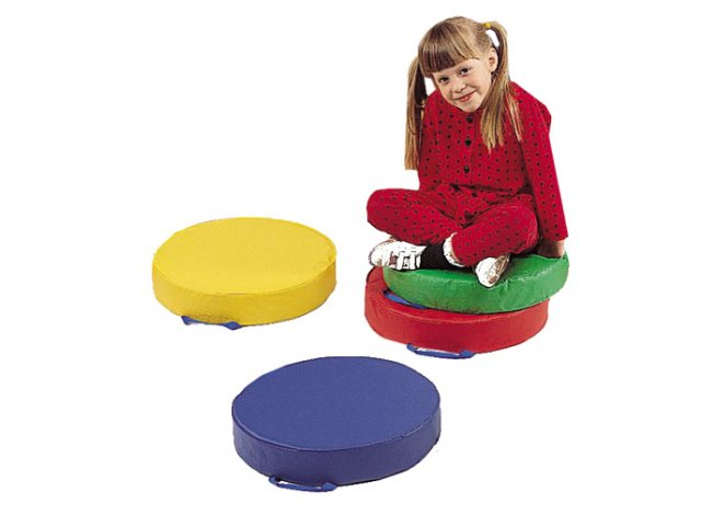 Floor Pillows For Daycare : Round Floor Cushions Set of 4 PSL-165, Kids Seating & Floor Cushions