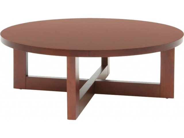 Chloe Solid Wood Round Coffee Table Res 3713r Occasional Tables
