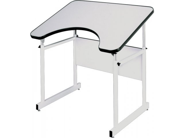 Classroom Design For Wheelchairs ~ Adjustable wheelchair accessible drafting table rfx d
