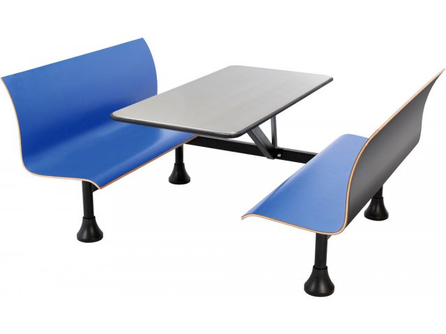 Groovy Retro Bench Cafe Booth Stainless Steel Top Wall Frame 30X48 Spiritservingveterans Wood Chair Design Ideas Spiritservingveteransorg