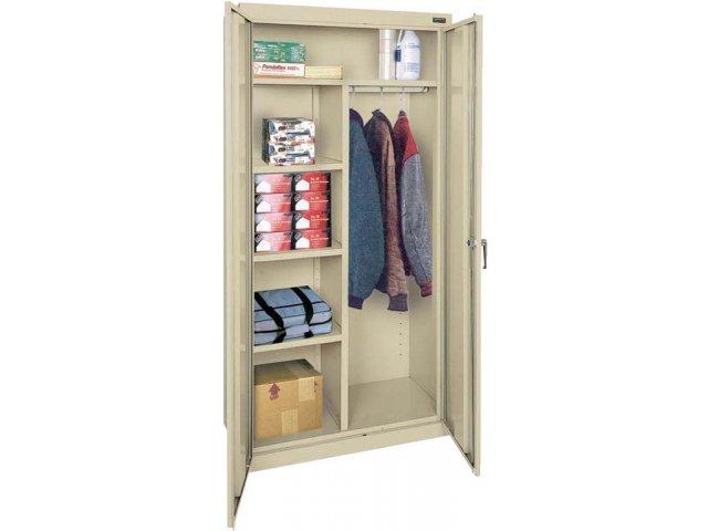 Combination Wardrobe Storage Cabinet 36 Quot Wx18 Quot Dx78 Quot H Metal