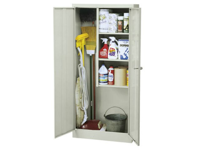 Janitorial Supply Closet