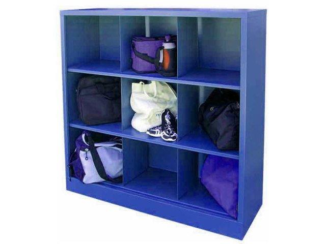 Beau Steel Cubby Storage Unit   9 Cubby
