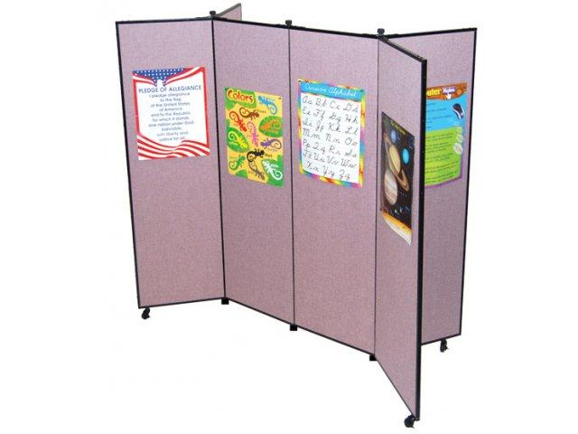 Portable Exhibition Panels : Portable art display panel quot h l