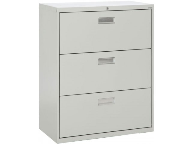 """600 Series Lateral File Cabinet - 3 Drawer, 36""""W SFL-363 ..."""