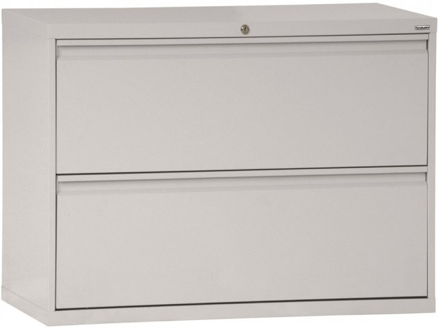 42 Lateral File Cabinet 2 Drawer: 800 Series Lateral File Cabinet