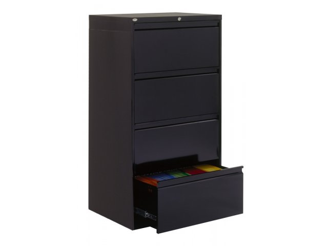 800 Series Lateral File Cabinet 4 Drawer 30 W