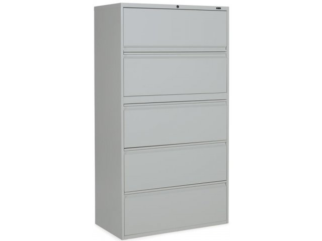 Superb 1900 Series 5 Drawer Lateral File Cabinet