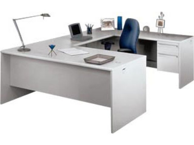 Ordinaire U Shape Office Desk With Right Return