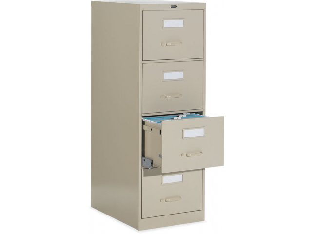 4 Drawer Letter Deluxe File Cabinet With Lock