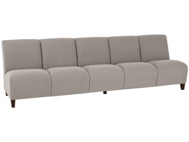 Siena 5-Seat Armless Sofa