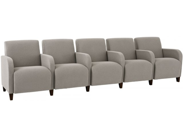 Siena 5-Seat Sofa w/Center Arms