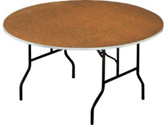Plywood Round Banquet Table Folding Tables - Standard round banquet table size