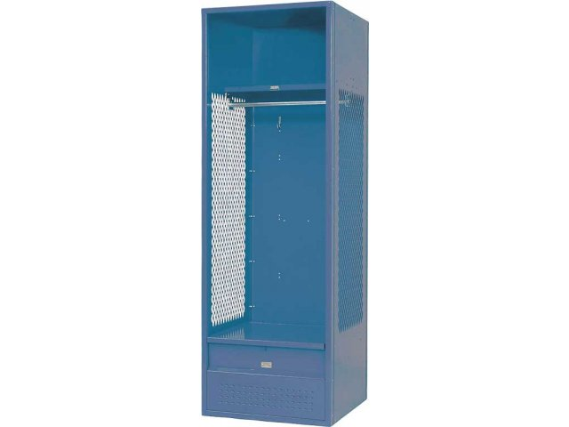 "Hertz Customer Service Chat >> Stadium Steel Sports Locker with Foot Locker 24""Wx24""Dx72""H, School Lockers"