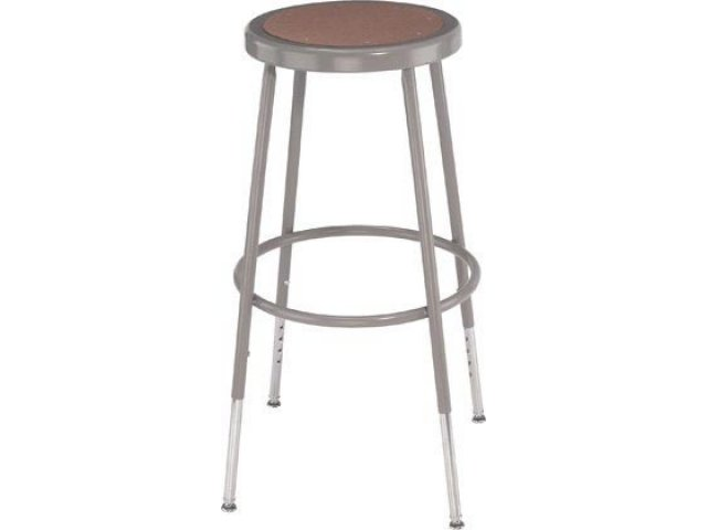 Outstanding Nps Adjustable Metal Lab Stool 25 33H Caraccident5 Cool Chair Designs And Ideas Caraccident5Info