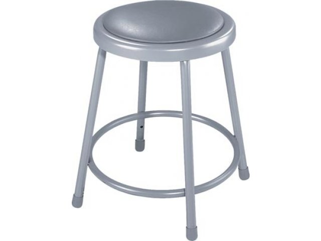 Nps Padded Metal Lab Stool 18 Quot H Stools