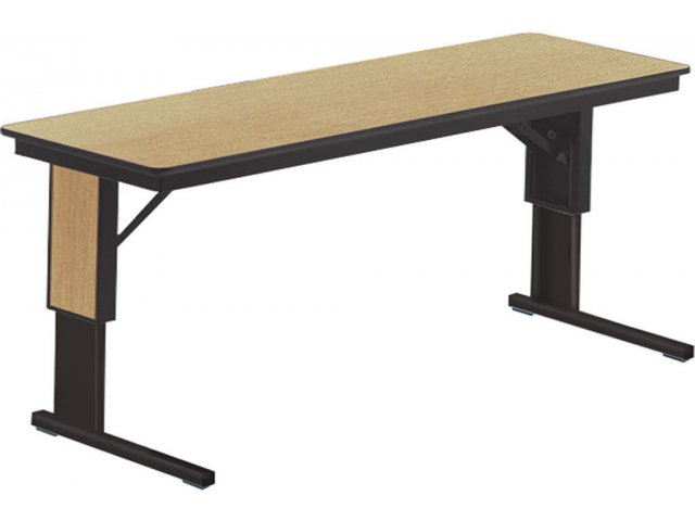 TL Table   Adjustable Height W/Cantilevered Legs