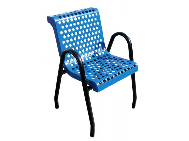 Food Court Chair Perforated Surface Upb 9530 Outdoor