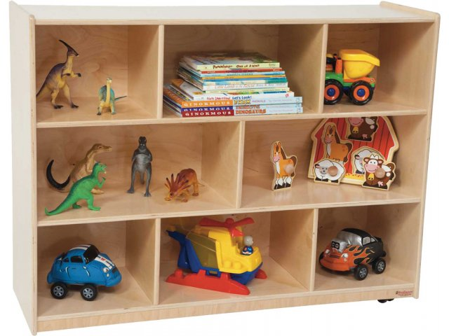 Healthy Kids Eco Friendly Mobile Cubby Storage