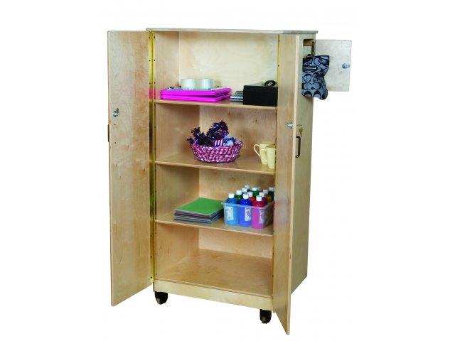 Wooden teacher storage cabinet quot x h