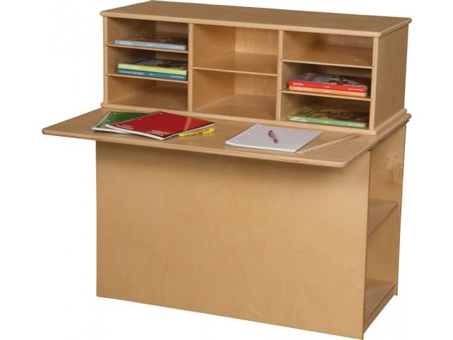 Hertz Customer Service Chat >> Wood Designs Preschool Writing Center - Single Sided WDE-31110, Preschool Tables