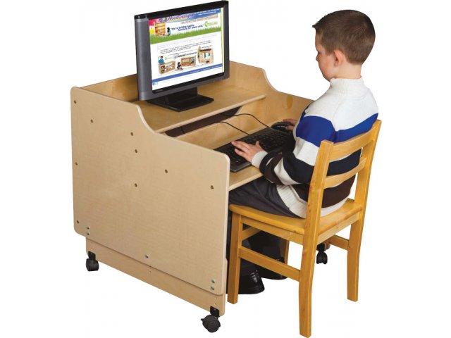 Charmant Mobile Classroom Computer Desk