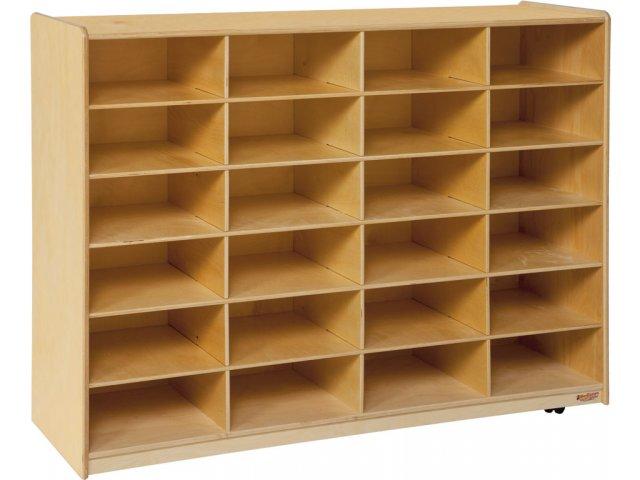Hertz Customer Service Chat >> Mobile Cubby Storage - 24 Cubbies WDE-46009, Preschool Cubbies