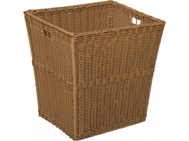 large plastic wicker preschool storage baskets set of 4 wde 72004 preschool storage. Black Bedroom Furniture Sets. Home Design Ideas