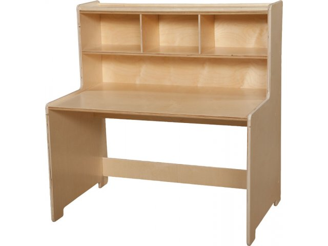 Hertz Customer Service Chat >> Preschool Writing Center Desk by Wood Designs WDE-99973, Preschool Tables