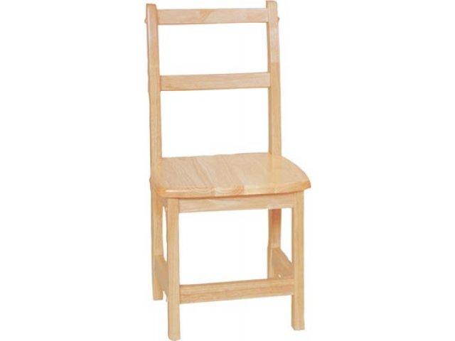Ladder Back Wooden Preschool Chair