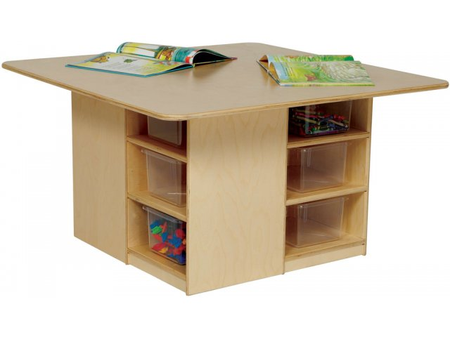 Cubby Storage Preschool Table WEE-85009, Classroom Tables