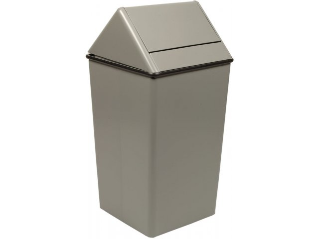 Swing-Top Trash Receptacle 36 gal., Indoor Trash Cans