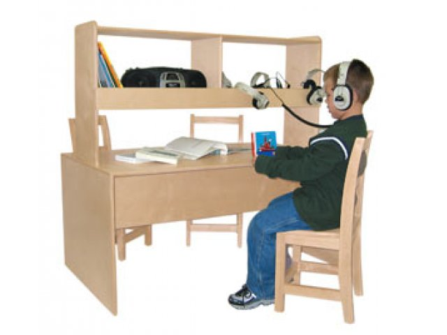 classroom listening center table wlc 17300 reading centers