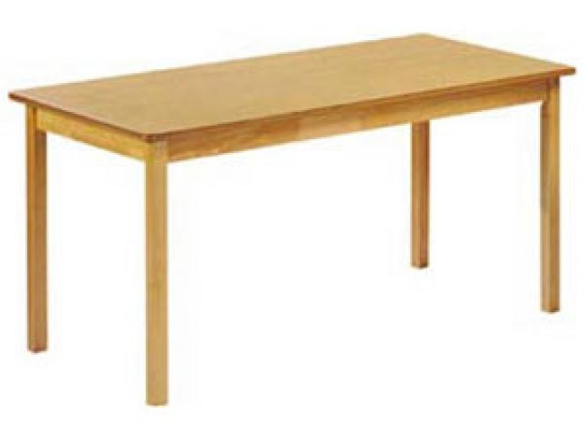 Charmant Rectangular Library Wood Table