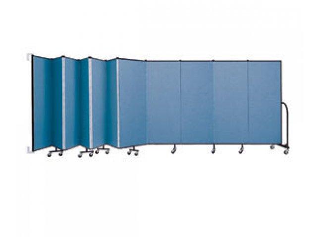 Wallmount movable walls 11 panels 6 h wall mounted room iders