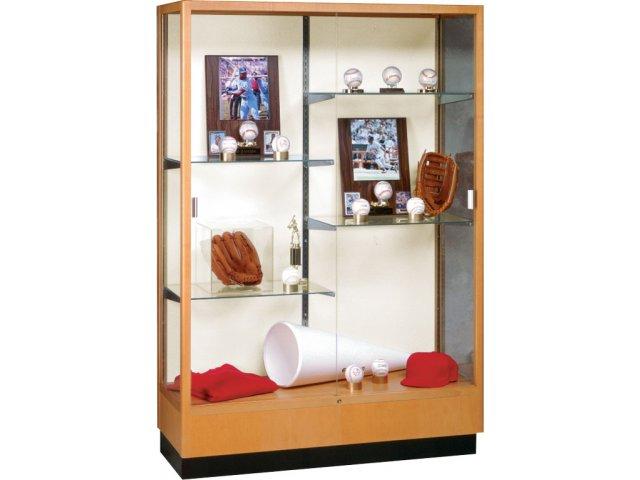 Heritage Trophy Cabinet In Oak 48 Wx70 H