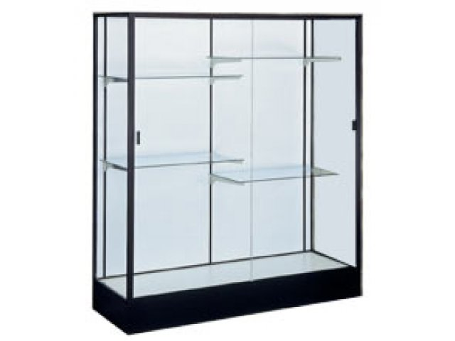 Colossus Floor Display Case W Plaque Fabric 60Wx66H