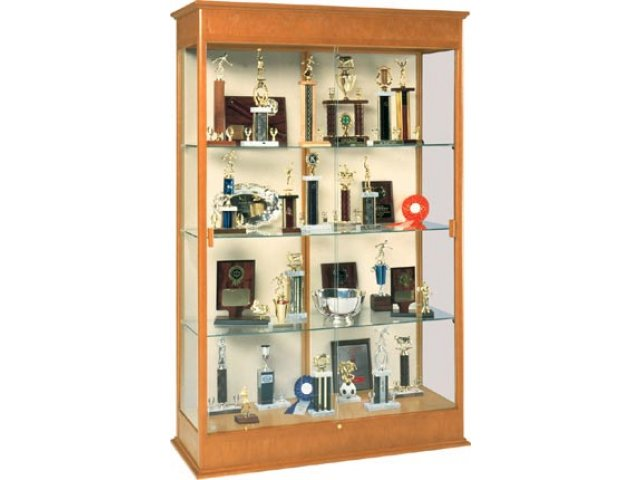 "Varsity Trophy Display Case 48""Wx77""H, Trophy & Display Cases"