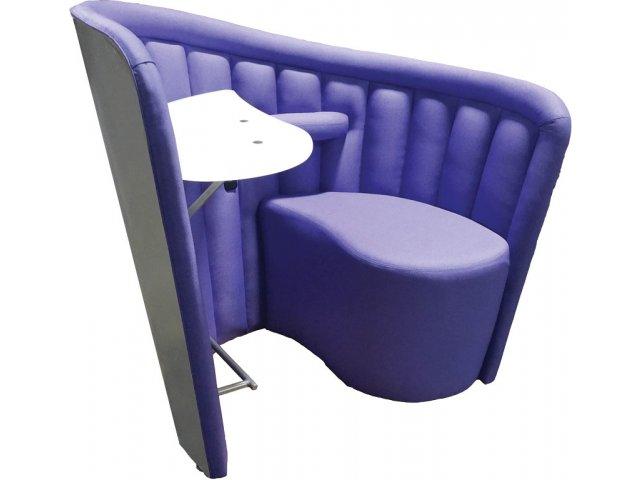 The Zone Study Pod Fabric Zon 42g2 Soft Seating