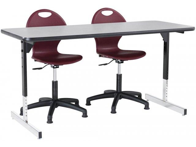 List Of Classroom Furnitures : Series adjustable ada compliant table