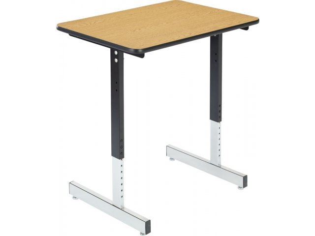 Basic Classroom Desk With T Legs Laminate Top Acd 1500l