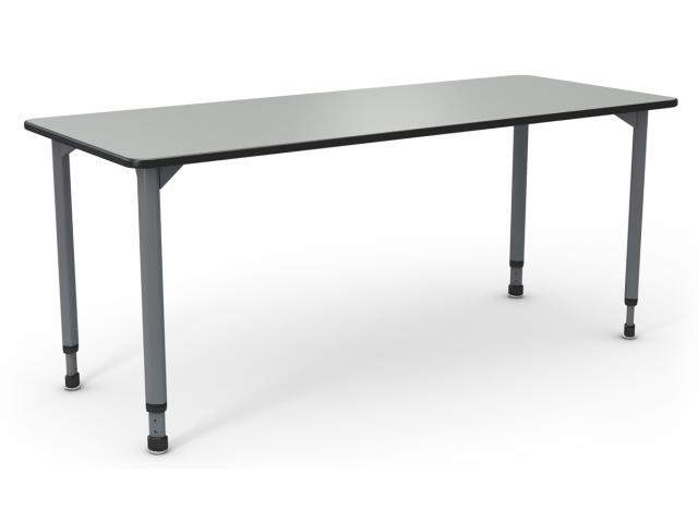 "A&D Adjustable Height ADA pliant Student Desk 20""x48"