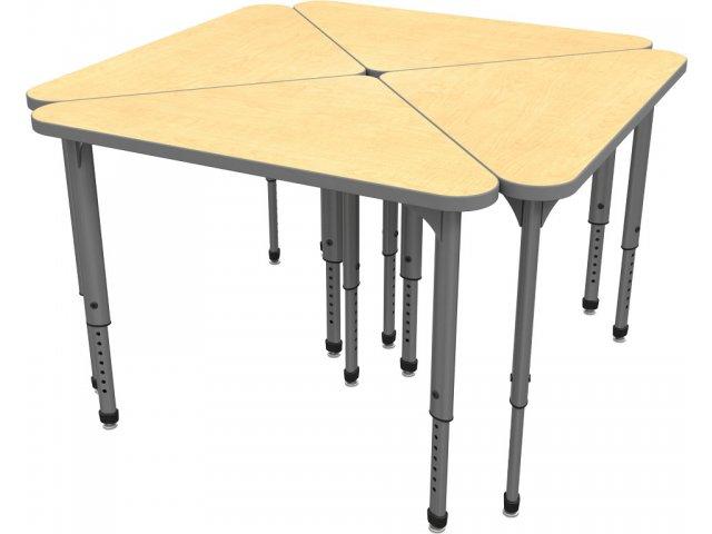 Apex Adjustable Triangle School Desk Apx 3041 Student Desks