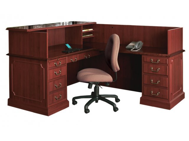 Bedford L Shaped fice Desk R Return Small BED 6678R