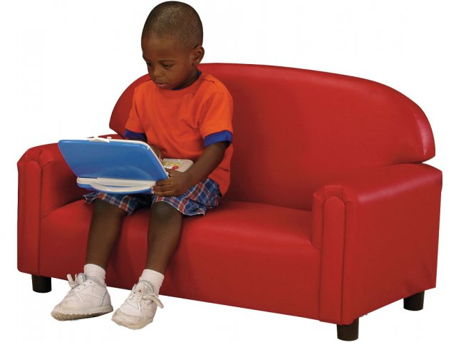 Floor Pillows For Daycare : Preschool Sofa, Vinyl BNW-100V, Kids Seating & Floor Cushions