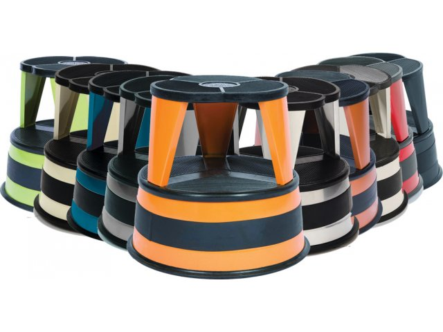 10 Colors Available  sc 1 st  Hertz Furniture & Kik-Step Rolling Steel Step Stool CKS-1001 Step Stools islam-shia.org