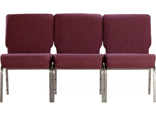 ... Chairs Ganged For Auditorium Style Seating.