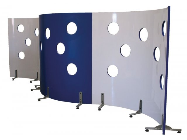 Modular Classroom Observations ~ Cheesewall mobile modular room divider w observation