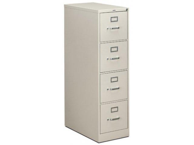 4 Drawer Letter Vertical File Cabinet HON-314P, Metal File Cabinets